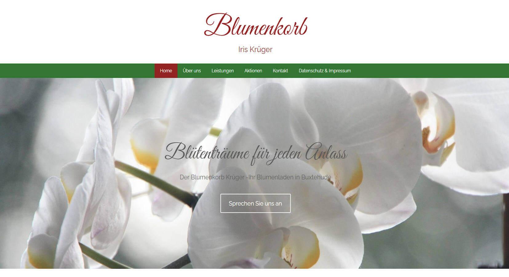 Blumenkorb Iris Krüger
