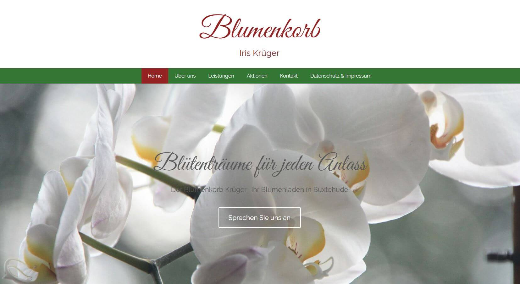 Screenshot Blumenkorb Iris Krüger