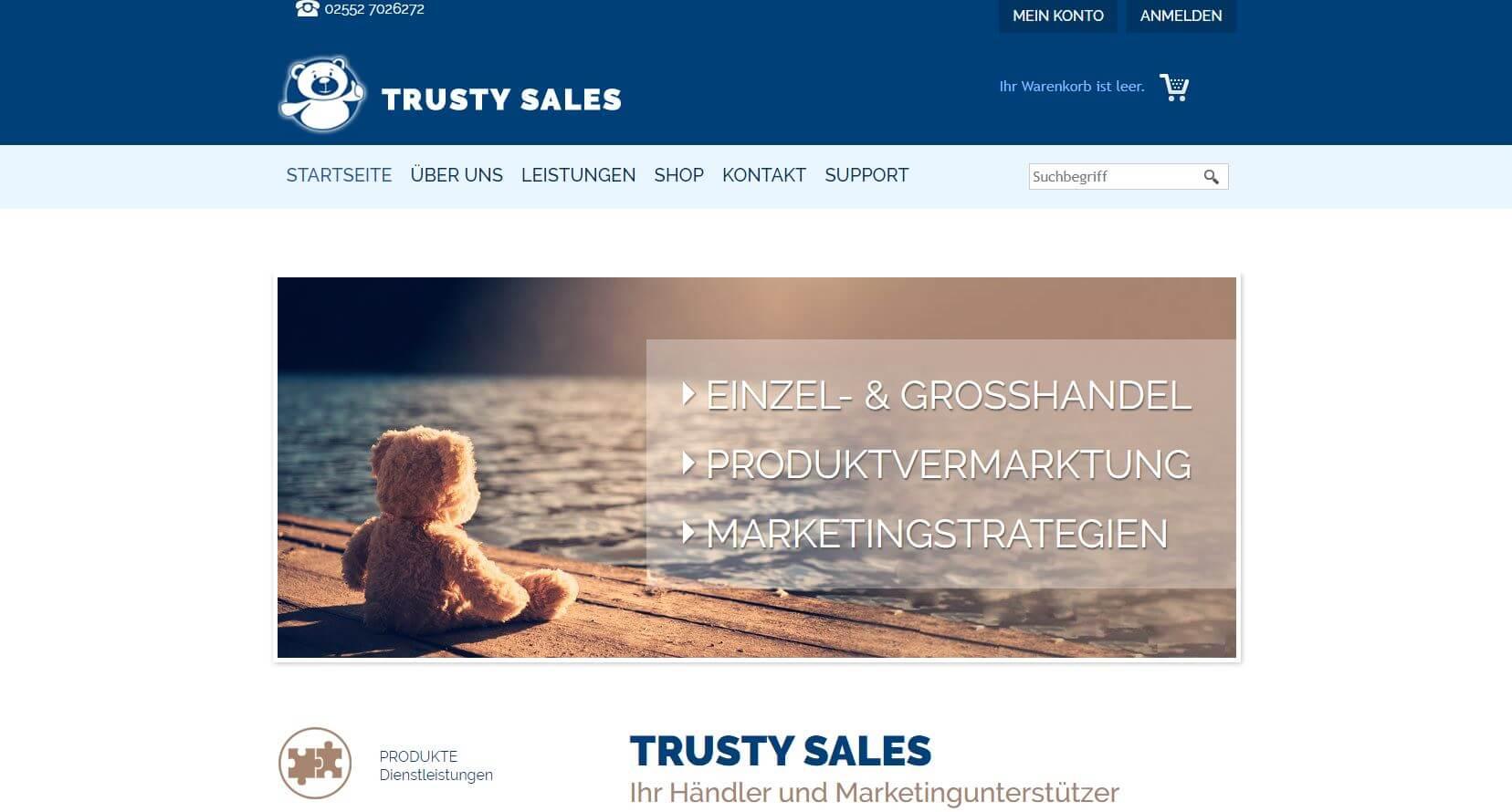 Screenshot Trusty Sales