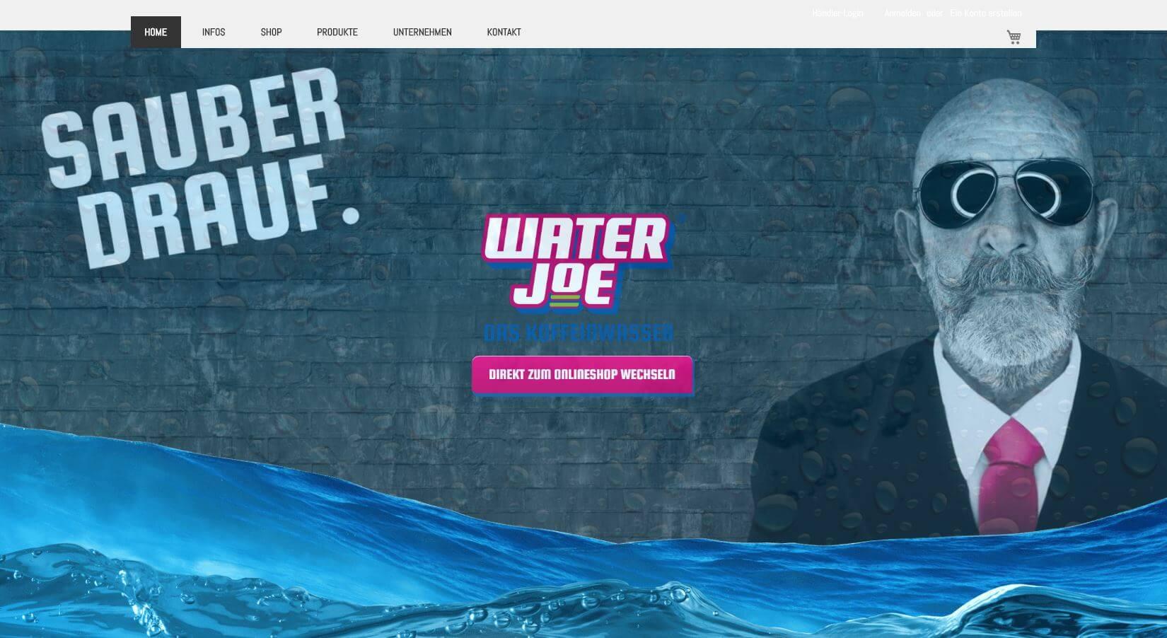 Screenshot WaterJoe