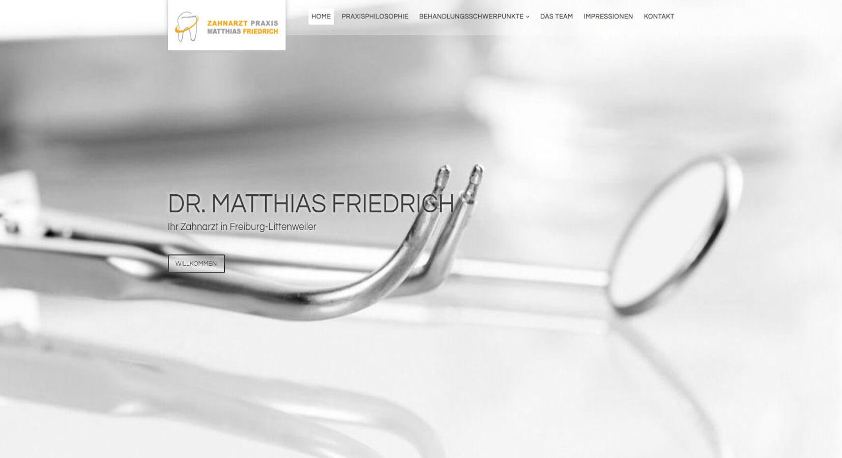 Zahnarzt Praxis Matthias Friedrich