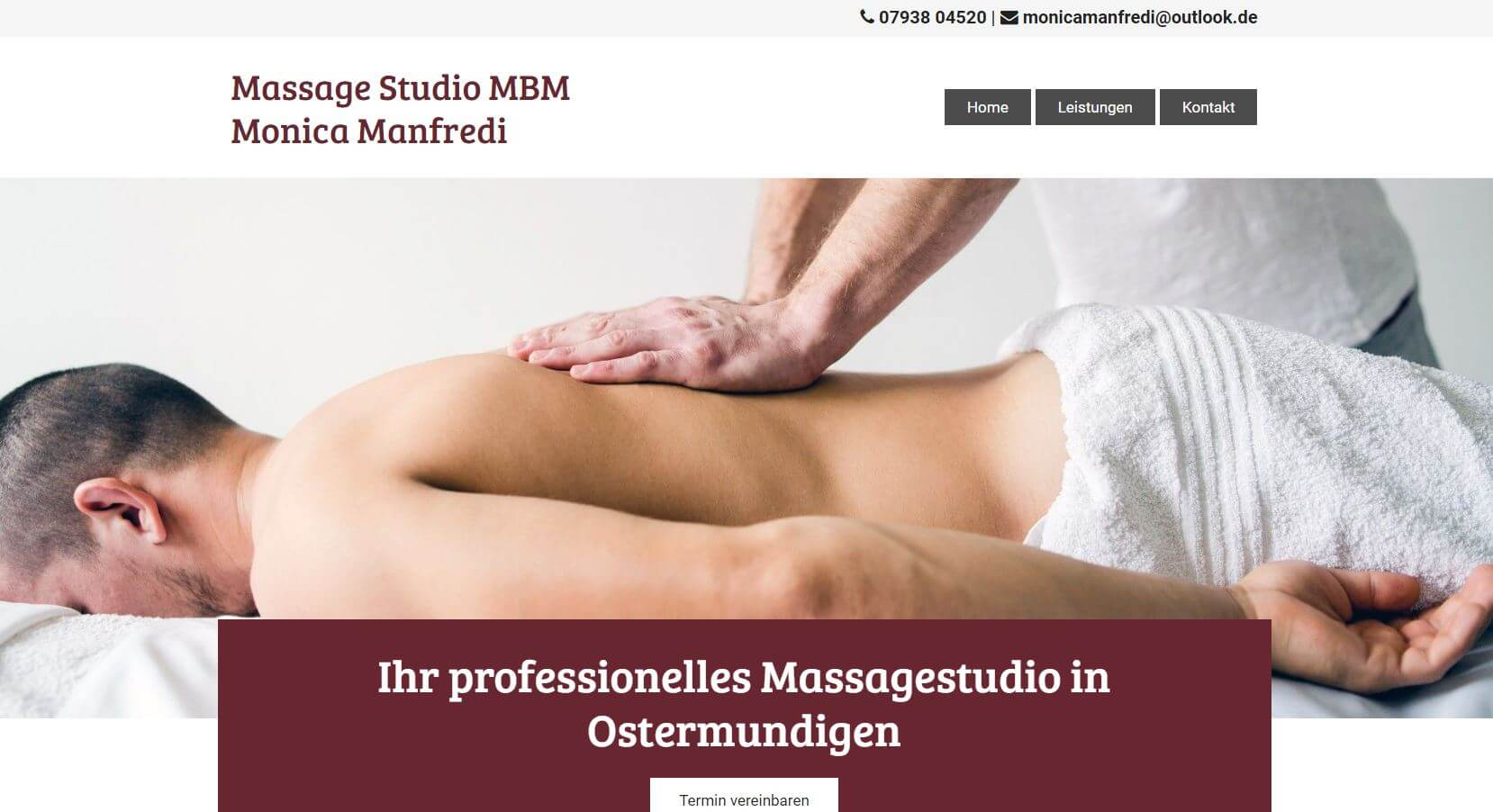 Massagestudio MBM