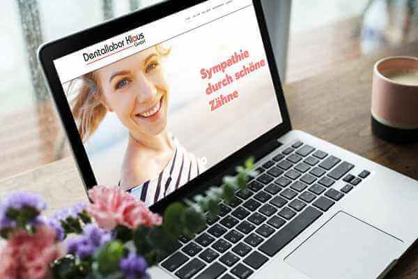Homepage Business Referenz Dentallabor Klaus