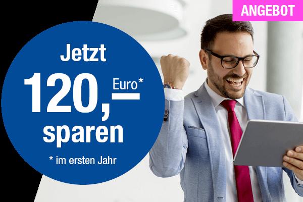 Homepage erstellen lassen und 120 Euro sparen