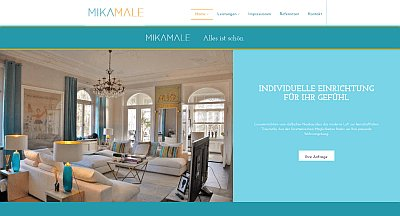 Homepage Business Referenz Mikamale