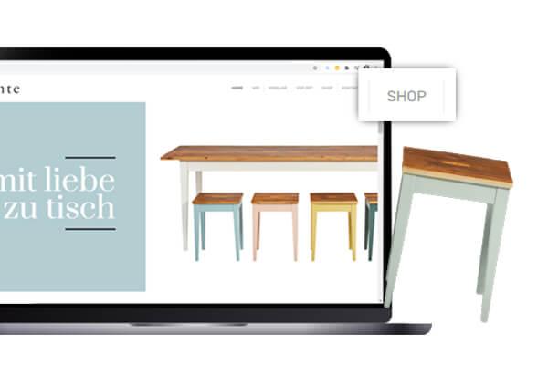 Online-Shop Einbindung