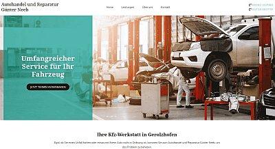 Homepage Basic Referenz Autowerkstatt Neeb