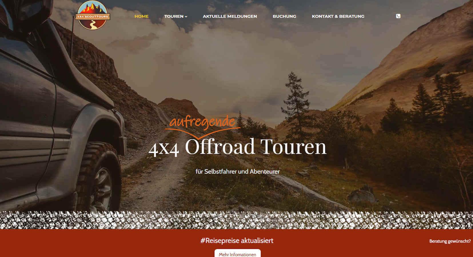 4x4 Scout-Tours