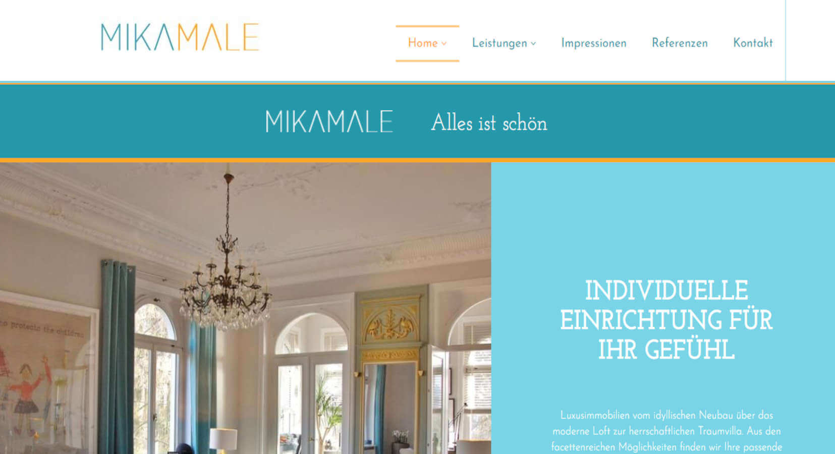 Homepage Referenz Mikamale