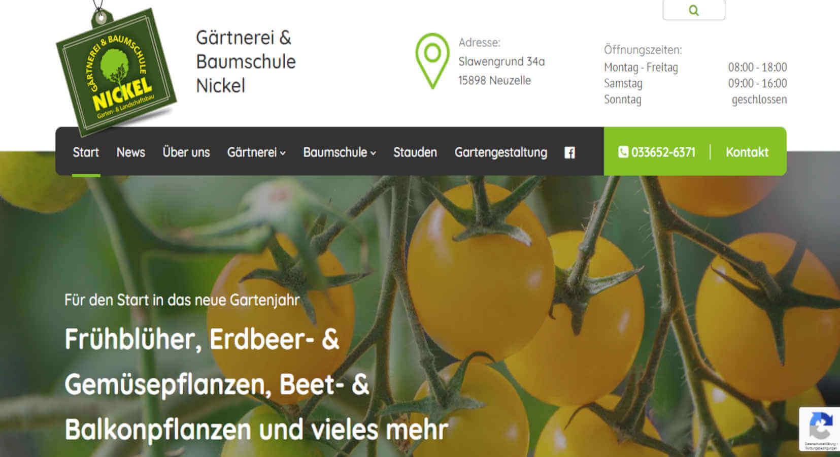 Gärtnerei & Baumschule Nickel