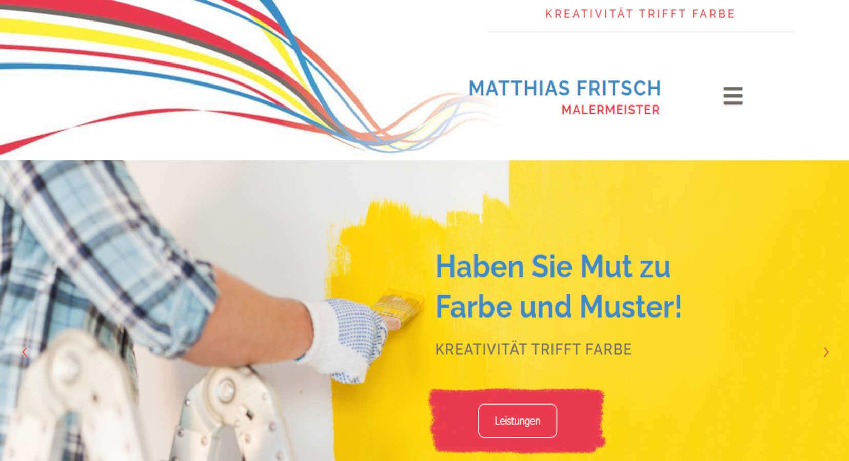 Malermeister Matthias Fritsch