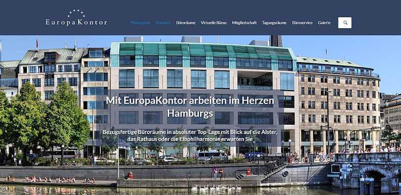 Homepage Individuell Referenz EuropaKontor